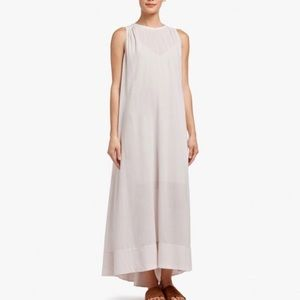 ISO James Perse Gauzy Cotton Tank Dress